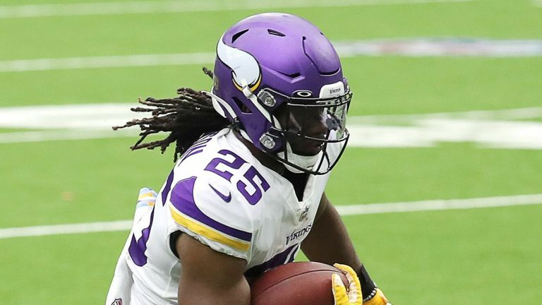 Alexander Mattison played well in relief of Dalvin Cook on Sunday