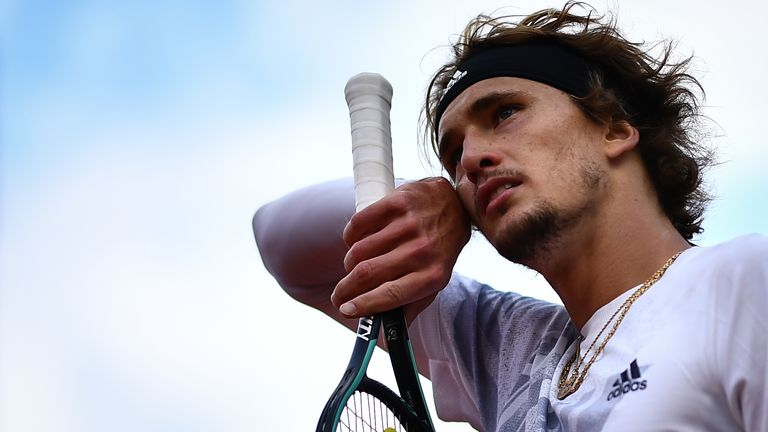 Alexander Zverev admitted after his defeat to Jannik Sinner that he should not have taken to the court
