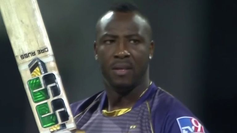 Destructive all-rounder Andre Russell will be a key man for KKR once again