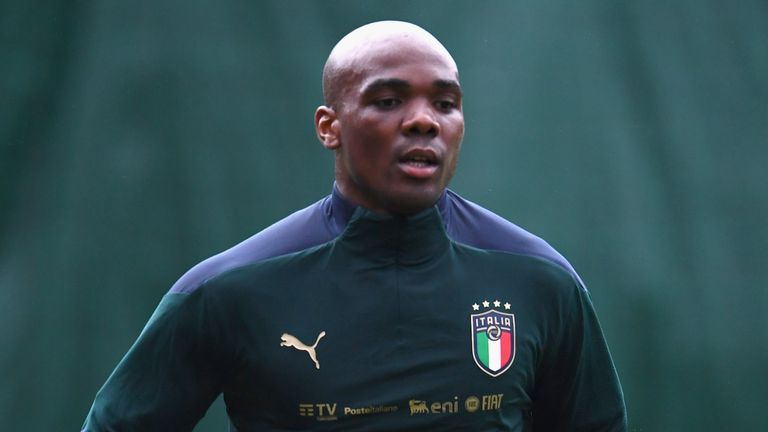 West Ham defender Angelo Ogbonna has returned to the Italy squad