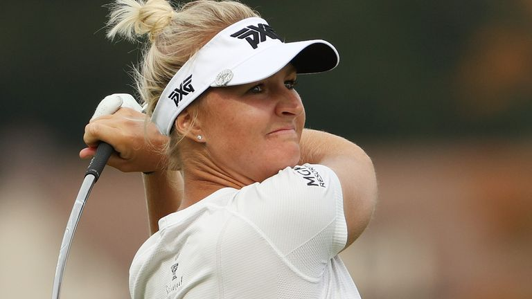 Anna Nordqvist is bidding for a third major title