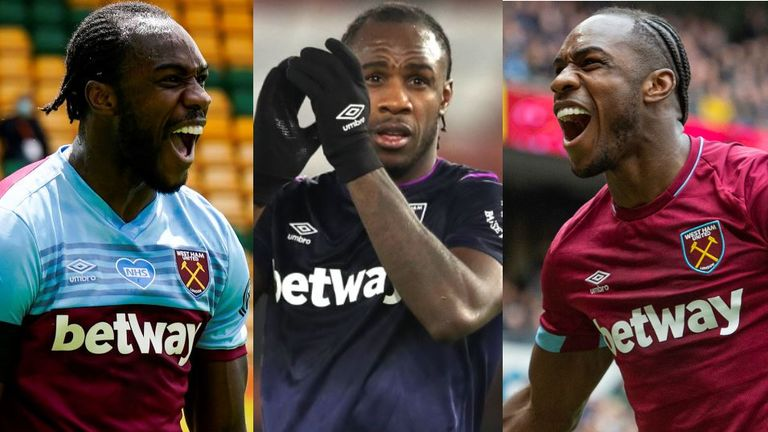 Michail Antonio signed for West Ham from Nottingham Forest in 2015 for around £7m