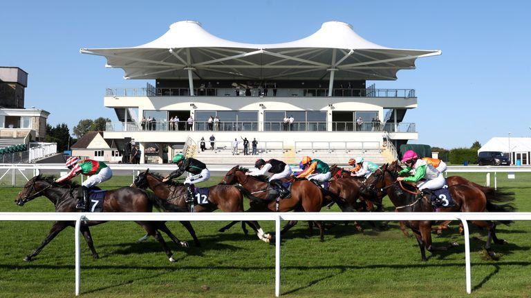 Bath racecourse general view