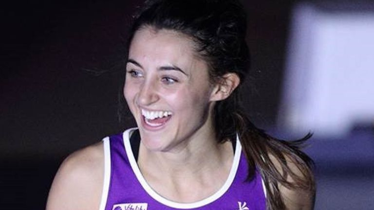 The mid-court athlete is excited to be back with Lightning (Photo Credit: Still Sport)