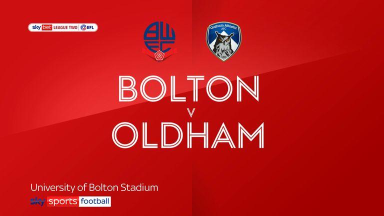 Oldham v Bolton
