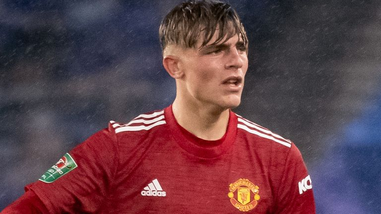 Manchester United defender Brandon Williams has yet to feature in the Premier League this season