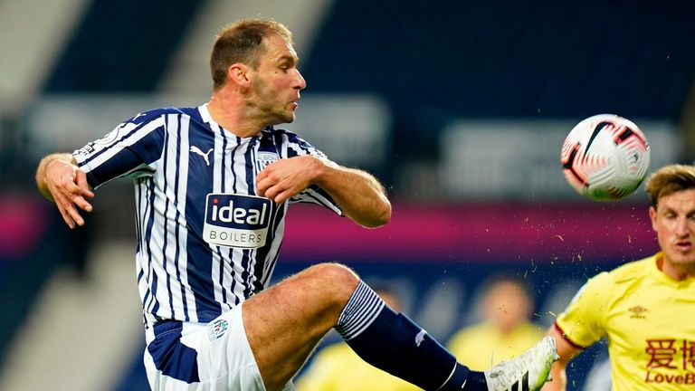Ivanovic produced a solid display at the heart of West Brom's defence