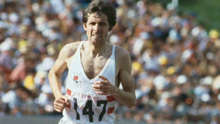 Former athlete Brendan Foster won gold in the 10,000 metres at the Commonwealth Games in Canada, August 1978