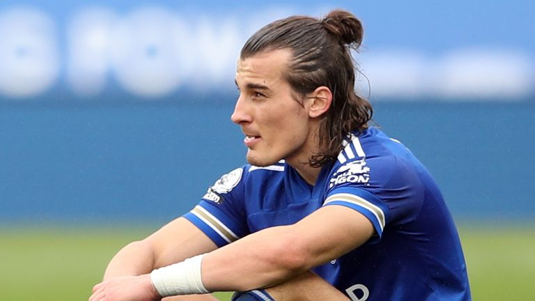 News of the extent of Caglar Soyuncu's injury was confirmed by Leicester boss Brendan Rodgers