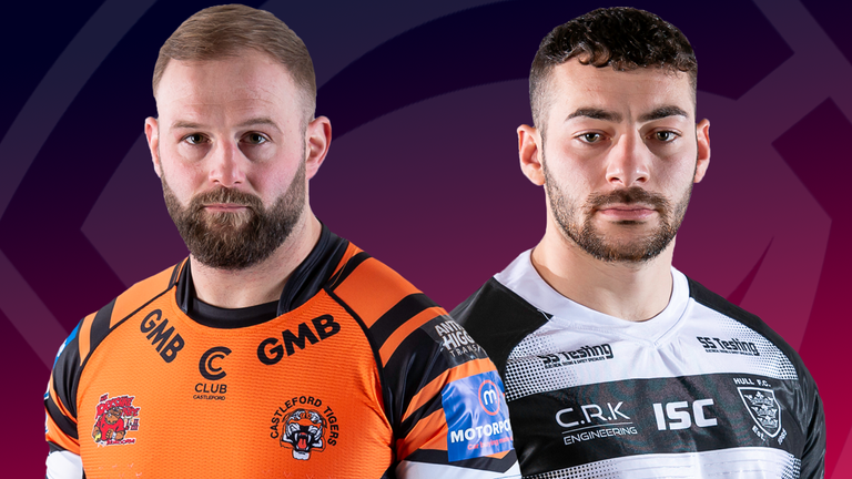 Castleford Tigers and Hull FC clash in Thursday night's Super League match