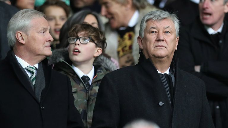 """Ian Bankier (left) says Covid-19 has had a """"detrimental effect"""" on the financial results"""