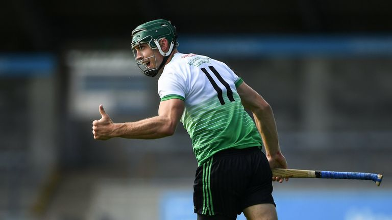 Chris Crummey has starred at half-forward for Lucan Sarsfields