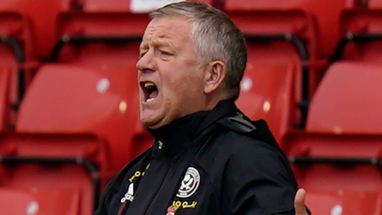 Chris Wilder's Sheffield United remain without a Premier League win this season