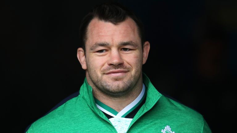 Cian Healy is set to become just the sixth player to win 100 caps for Ireland