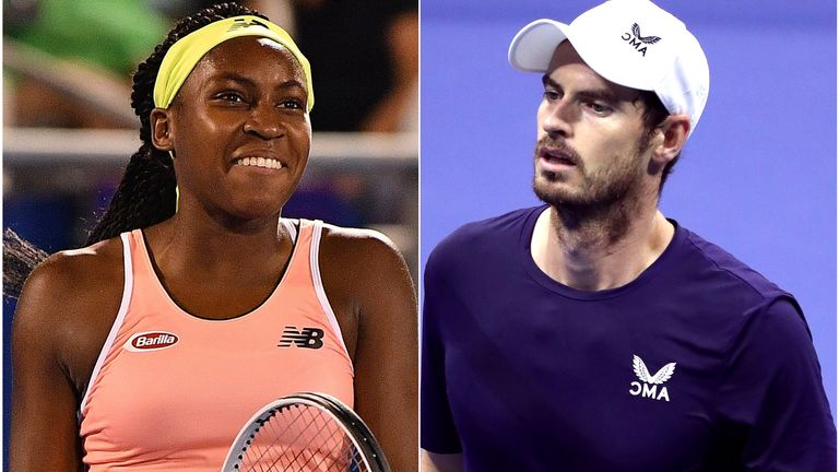 Coco Gauff described Andy Murray as a 'great ally' in the fight for more diversity
