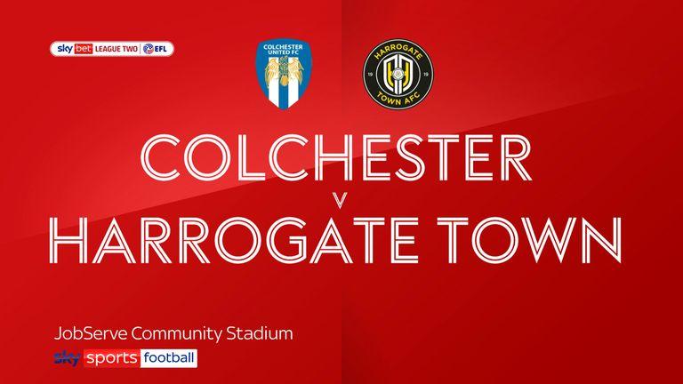 Colchester Harrogate