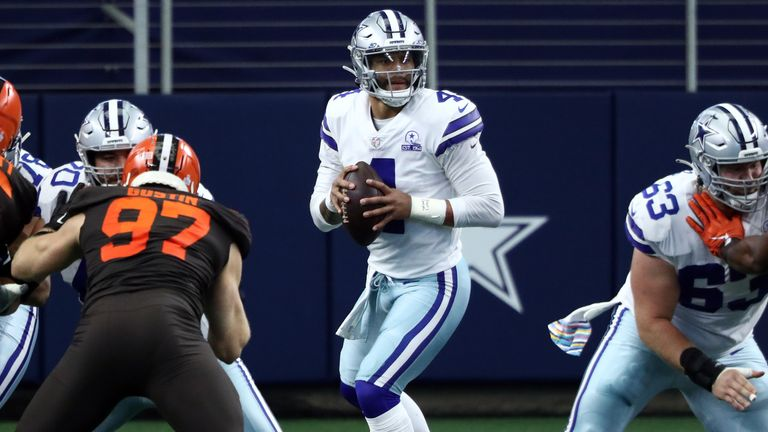 Dak Prescott threw for more than 500 yards and four touchdowns - but it was not enough