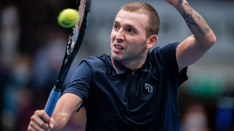 Dan Evans will face young Italian Lorenzo Sonego for a place in the final