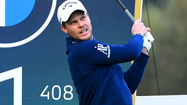 Defending champion Danny Willett safely made the cut