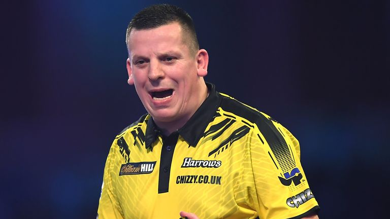 Dave Chisnall was in phenomenal form to overcome Glen Durrant