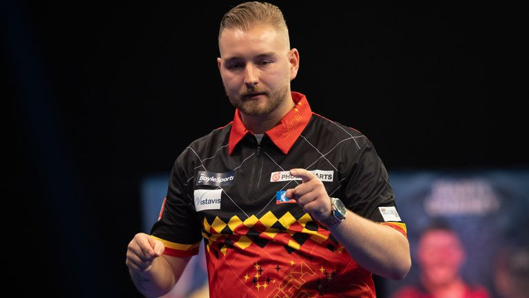Webster believes there are similarities between Humphries and Van den Bergh, who lifted last year's World Matchplay
