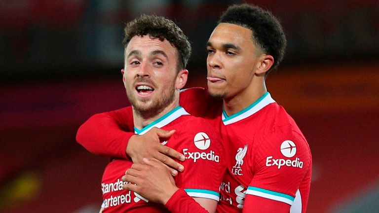 Diogo Jota's second goal in Liverpool colours proved a valuable one in their 2-1 win over Sheffield United