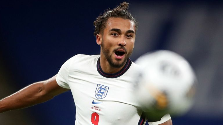 Dominic Calvert-Lewin took just 26 minutes of his England debut to score his first Three Lions goal, and 10th of the season