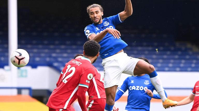 Dominic Calvert-Lewin heads Everton level
