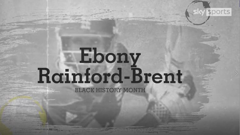 Ebony Rainford-Brent, the first black woman to play cricket for England, was part of her country's World Cup win in 2009 and has since become a respected cricket executive and commentator