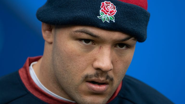 Ellis Genge comes into the England front row in place of Mako Vunipola