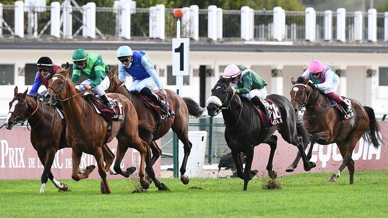 Enable sixth as Sottsass wins Prix de l'Arc de Triomphe | Racing News | Sky  Sports