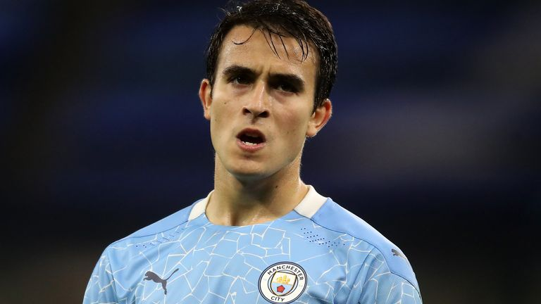 Eric Garcia made his third Manchester City appearance of the season in the 3-1 win against Porto