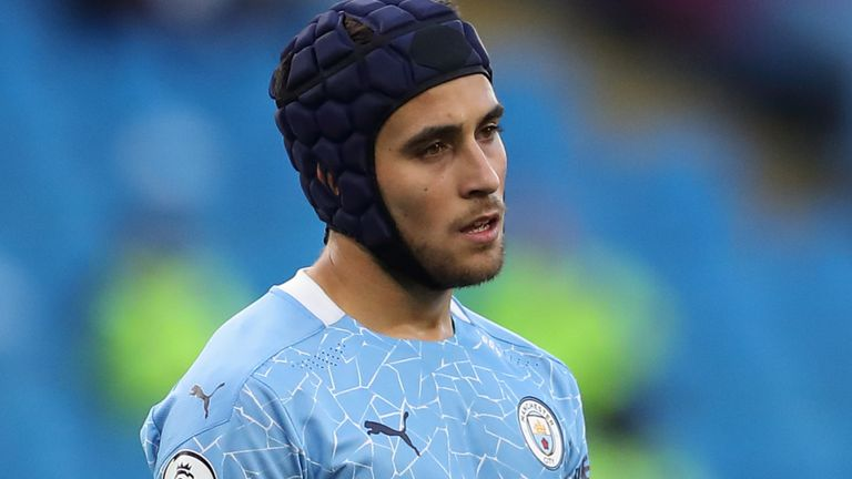 Eric Garcia played in Manchester City's 5-2 defeat to Leicester in September