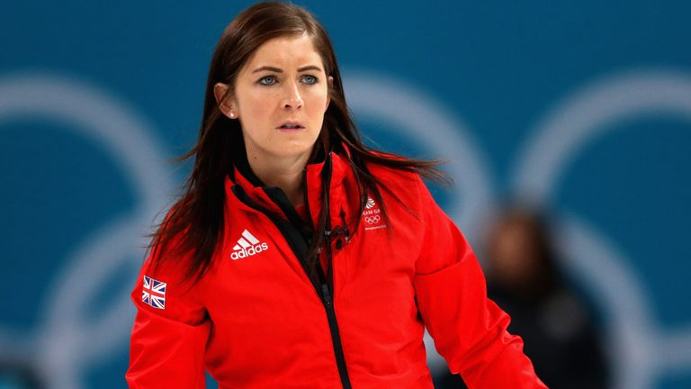 Eve Muirhead on day fifteen of the PyeongChang 2018 Winter Olympic Games at Gangneung Curling Centre on February 24, 2018 in Gangneung, South Korea.