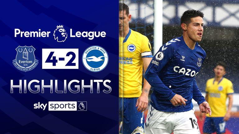 Everton v Brighton highlights new