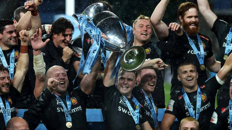Exeter Chiefs pipped Wasps at Twickenham to claim the 2020 Premiership title