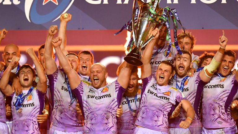 Exeter were crowned the champions of Europe for the first time