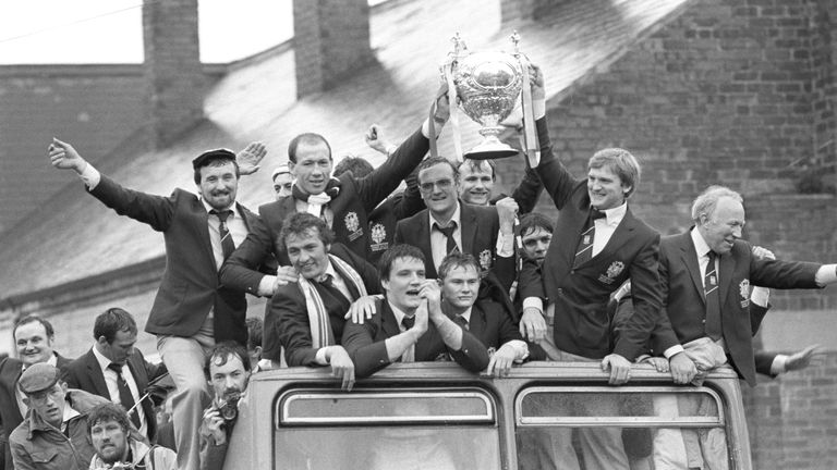Richard Agar's father Allan was coach when Featherstone won the 1983 Challenge Cup final