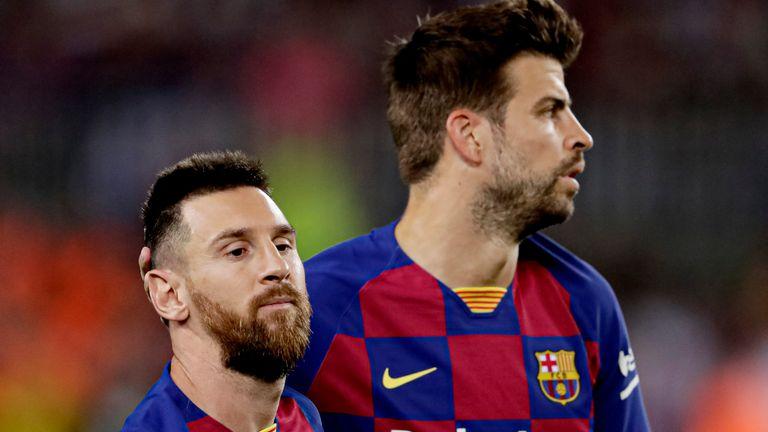 Lionel Messi, Gerard Pique