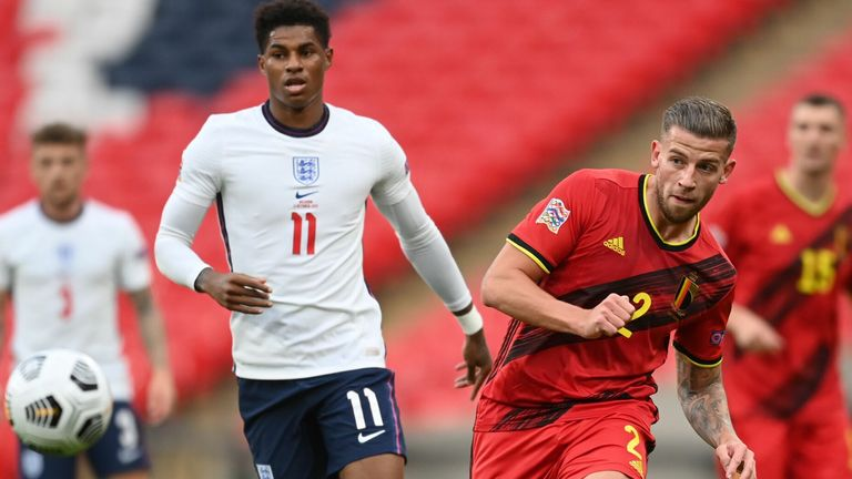 Belgium Vs England Uefa Nations League Game Switched To Lueven Football News Sky Sports