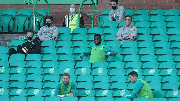 Substitutes and backroom staff will be the only people in attendance on Saturday