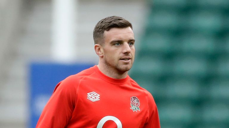 George Ford has withdrawn from England's squad due to a pre-existing Achilles problem