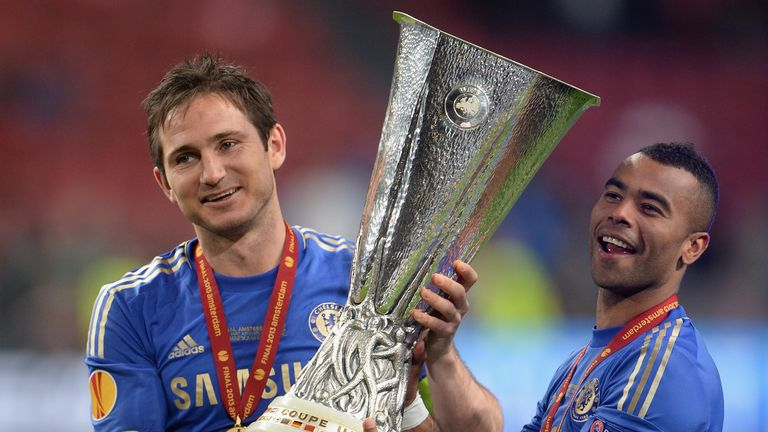 Frank Lampard and Ashley Cole won a combined 22 trophies during their time at Chelsea