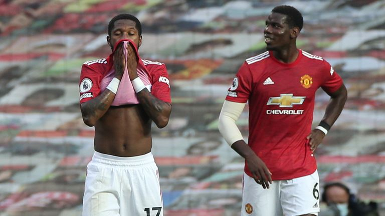 Fred and Pogba