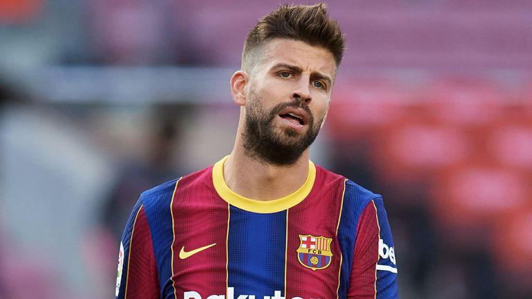 Barcelona defender Gerard Pique has been outspoken against the board