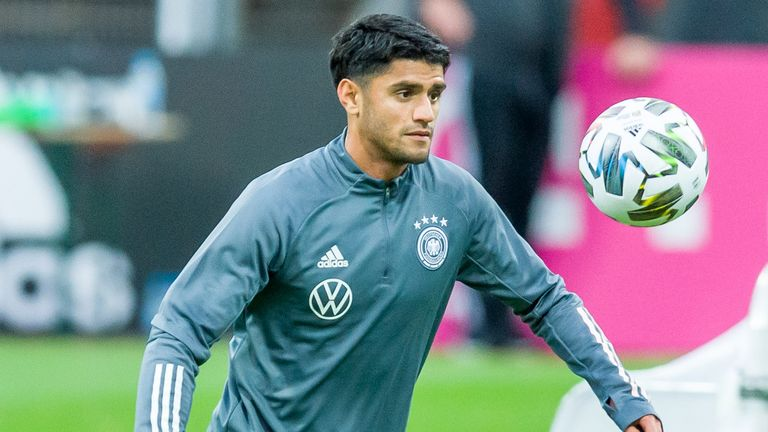 Borussia Dortmund's Mahmoud Dahoud could earn his first Germany cap