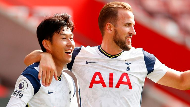 Harry Kane and Son-Heung Min