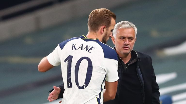 Jose Mourinho told Gareth Southgate he would not play Harry Kane in Tottenham friendlies