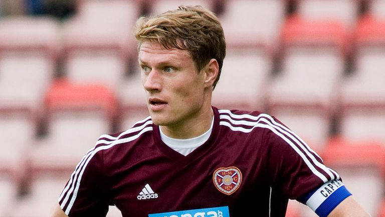 Marius Zaliukas played more than 150 games for Hearts