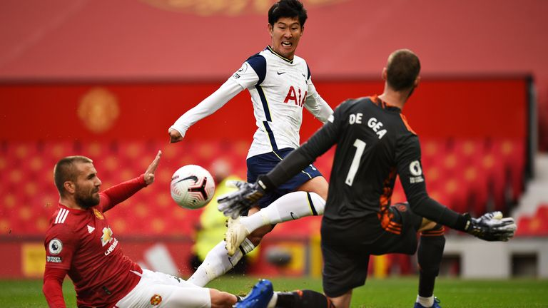 Heung-Min Son gives Spurs a 2-1 lead